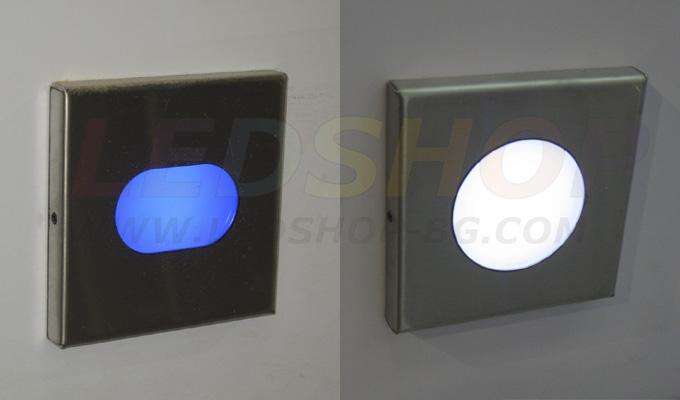 LED маркери за стъпала-осветление на стълби, улични тротоари, акцентно осветяване на стени и подове. Направете интериора и обстановката около Вас уникална!