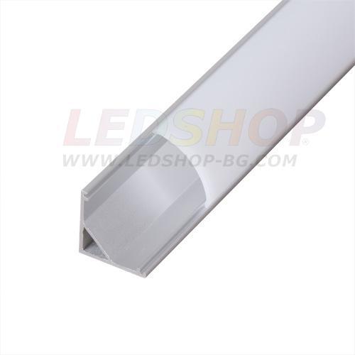 Алуминиев профил за LED лента - ъглов
