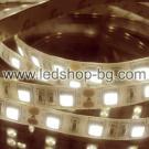 LED лента 60 LED/m, 5050 SMD, IP 65- топло бял